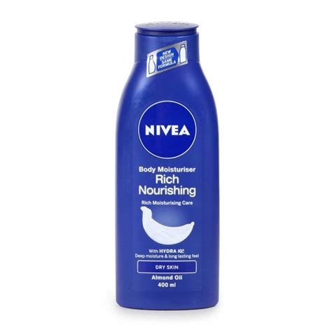 Nivea Nourishing nivea rich nourishing moisturiser lotion 400ml
