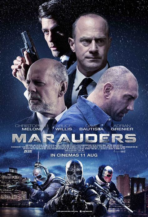 film or movie marauders action movie gsc movies