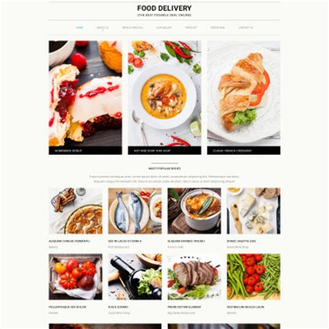 Delivery Services Website Templates Templatemonster Grocery Delivery Website Template