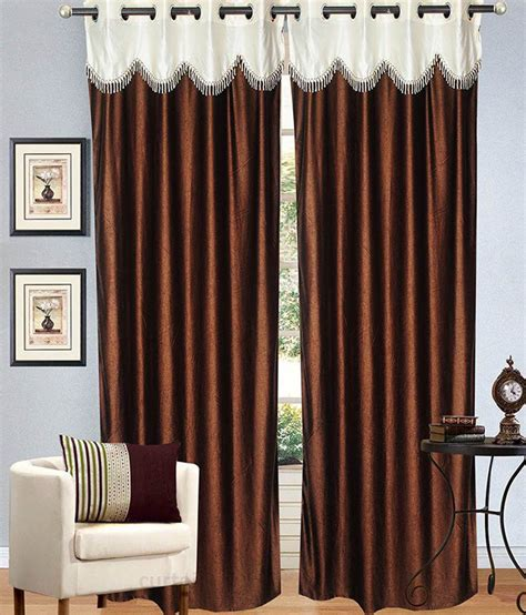 brown and white curtains candy house brown and white plain polyester window curtain