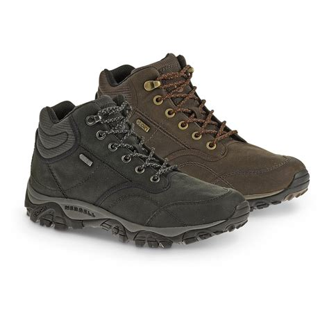 merrill mens boots merrell s rover mid waterproof boots 617446 hiking