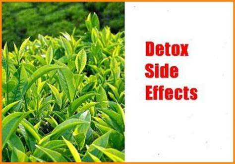 Herbal Detox Side Effects detox side effects drastic herbal tea water detox is