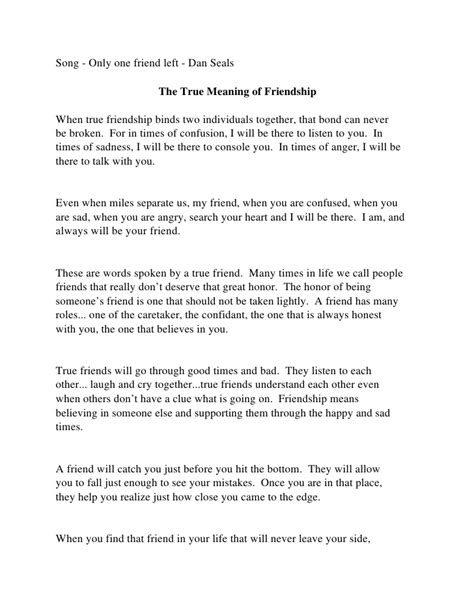 What Is A Friend Essay by True Friendship Definition Essay The Catcher In The Rye Theme Essay Writing A Problem Solution