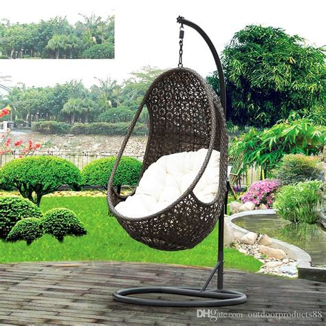 swing chair garden furniture 2018 rattan basket rocking chair garden rattan wicker