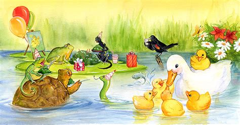 water a duck darley novel books children s book by carol newsom cliff knecht artist