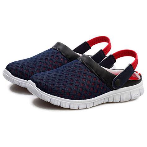 Sepatu Santai sepatu sandal slip on santai pria size 37