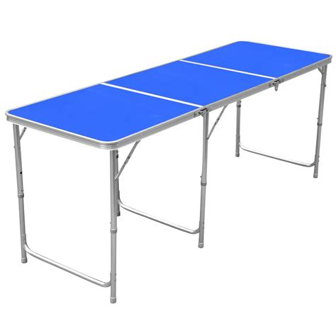 dining table dining table portable 1 8m 6ft aluminum portable folding cing picnic party