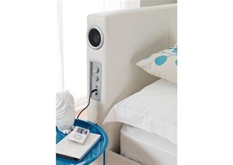 Headboards With Speakers by Bed With Speakers In The Headboard Craziest Gadgets