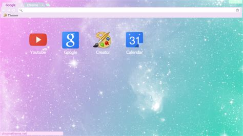 themes google chrome themebeta pastel galaxy chrome theme themebeta