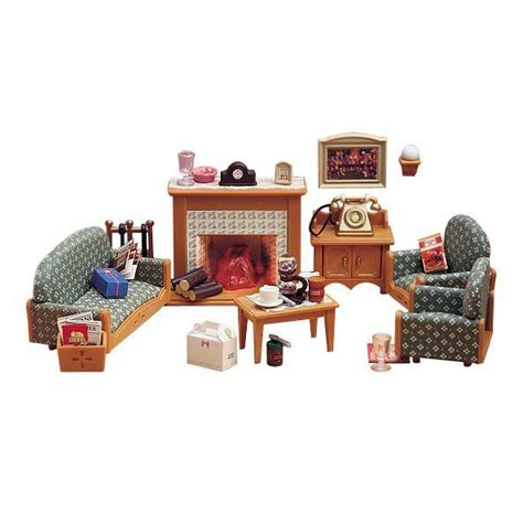 Sylvanian Living Room Set Sylvanian Families Deluxe Living Room Set At Mighty Ape Australia