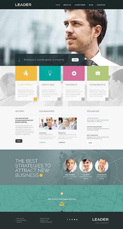 bootstrap templates for consulting 17 best images about bootstrap website templates on