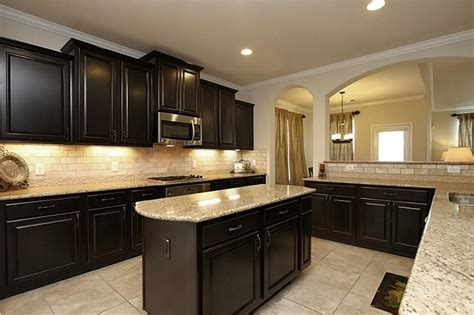 kitchens with dark cabinets and light countertops cabinet light modern light countertops with dark cabinets