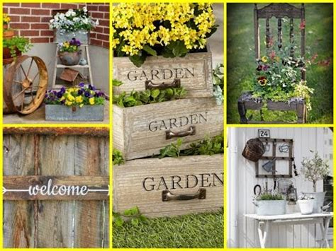 garden decor ideas pictures diy vintage and rustic garden decor ideas diy summer