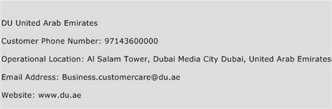 emirates toll free number du united arab emirates customer service phone number