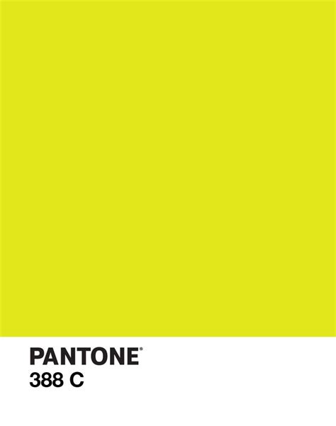 pantone s pantone 388 c color yellow green design d e s i g