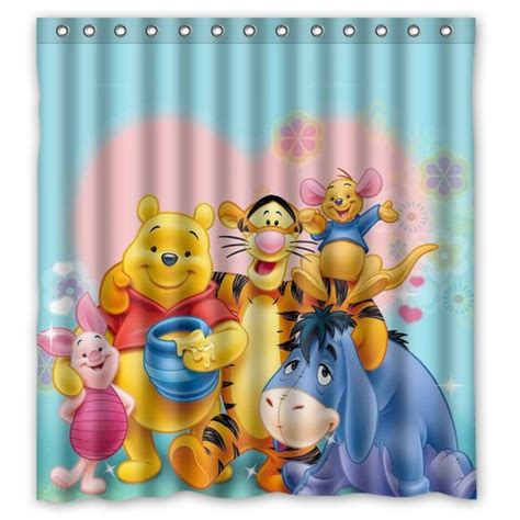 winnie the pooh shower curtain 2014 new waterproof bathroom shower curtain winnie the