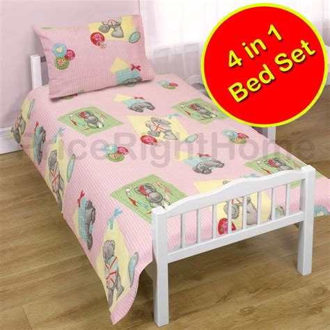 toddler bed bundles 4 in 1 character bedding bundles to fit junior toddler beds new official ebay
