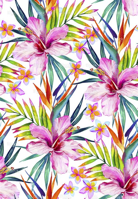 tropical pattern background tumblr colorful tropical seamless pattern with hibiscus