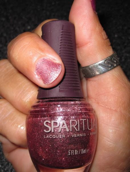 Sparituals Nail Lacquer Megs Make Up Reviews by Sparitual Nail Wilde And In Pink 2011 Review