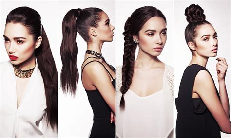 7 Ways To Wear Eyelet by Seven Ways To Wear A Ponytail