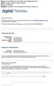 paypal receipt example images