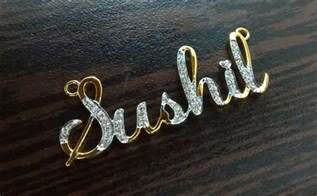 Custom Name Pendants How To Get A Customized Name Pendant Made In India Personalized Jewelry