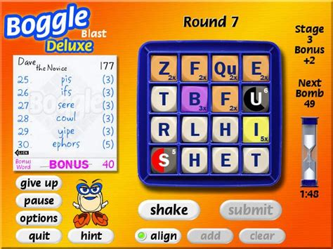 how to play scrabble boggle boggle screenshot 3 chocosnow