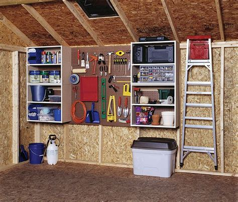 common shed storage organization mistakes  avoid