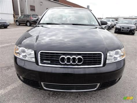 2004 black audi a4 brilliant black 2004 audi a4 3 0 quattro sedan exterior