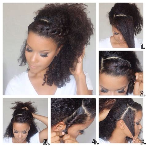easy at home black hairstyles diy sunday easy natural hair hairstyles diys natural