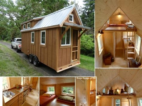 Tiny Houses On Wheels Interior Tiny House On Wheels Design Tiny Little House
