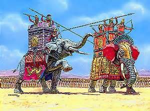 immortali persiani zvezda models war elephants toys