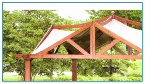 Garden Treasures 10 X 10 Pergola Gazebo Garden Treasures Pergola Gazebo