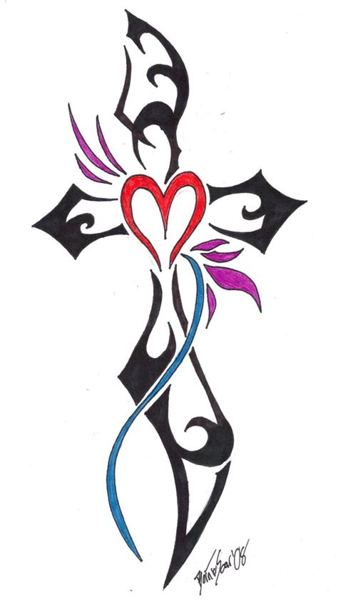 love cross tattoo spicy designs traditional belief and meaning of