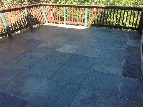 how to get sap tile floor want more out of your slate tile patio