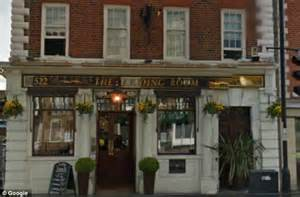 fired barman held up trading room pub but when recognised