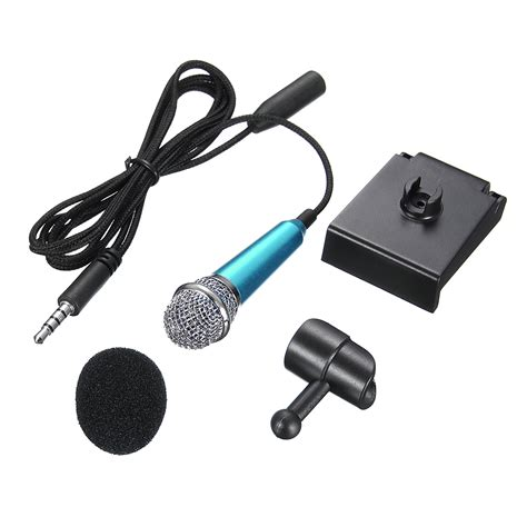 Mini Microphone For Notebook Computer multicolor mini microphone wired mic for pc laptop