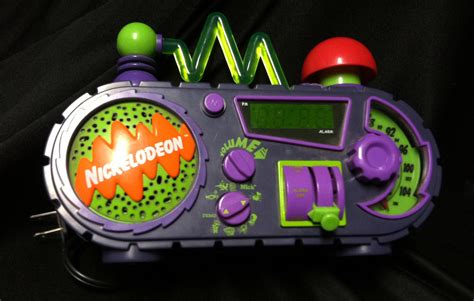 nickelodeon time blaster alarm clock collectors weekly