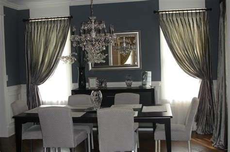 window treatments dining room total window treatments traditional dining room chicago by total window treatments