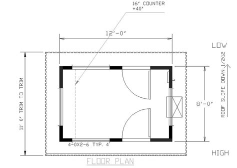 guard house floor plan alan pre fab building custom modular buildings since