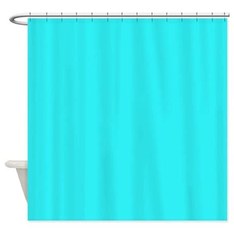 teal colored shower curtains teal shower curtain by thehomeshop