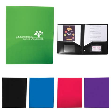 Promo Colorfull 1 colorful polypro presentation folder promotional item