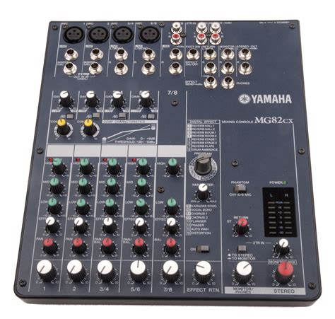 Mixer Audio Yamaha power supply yamaha mg82cx power supply