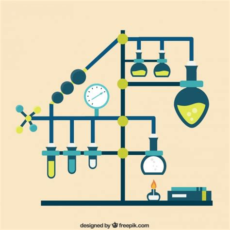design lab free download chemistry laboratory infographic vector free download