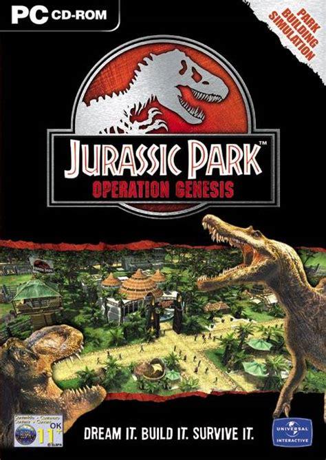 jurassic park operation genesis pc game mods jurassic park operation genesis windows xbox ps2 game