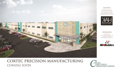 design manufacturing texas 2016 cortec precision manufacturing ground breaking kah