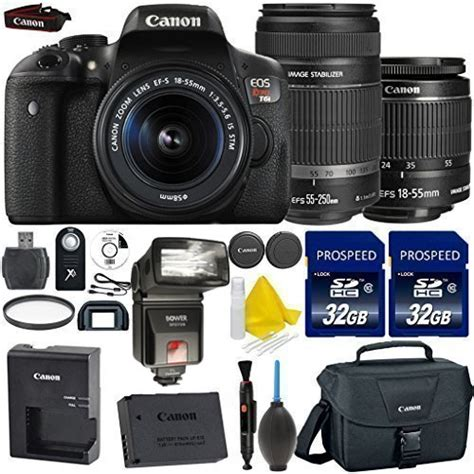 Wifi Dslr Canon canon eos rebel t6i 24 2mp wifi enabled digital slr