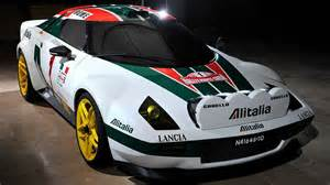 Lancia Rally New Lancia Stratos Hf Rally Alitalia Presented 2017