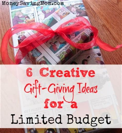 31 days of giving on a budget 6 creative gift giving