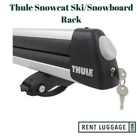 ski rack rental rent thule flat top ski and snowboard rack your save
